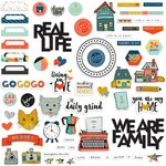 Fancy Pants Designs - Family and Co Collection - Ephemera