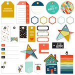 Fancy Pants Designs - Family and Co Collection - Tags Pack