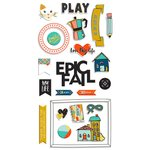 Fancy Pants Designs - Family and Co Collection - Chipboard Stickers