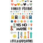 Fancy Pants Designs - Family and Co Collection - Puffy Stickers