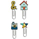Fancy Pants Designs - Family and Co Collection - Paper Clips