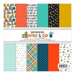 Fancy Pants Designs - Family and Co Collection - 6 x 6 Paper Pad