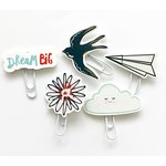 Fancy Pants Designs - Dream Big Collection - Paper Clips