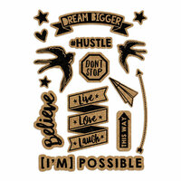 Fancy Pants Designs - Dream Big Collection - Cork Stickers