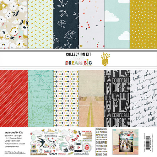 Fancy Pants Designs - Dream Big Collection - 12 x 12 Collection Kit