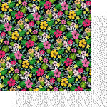 Fancy Pants Designs - Hello Sunshine Collection - 12 x 12 Double Sided Paper - Paradise Found