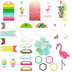 Fancy Pants Designs - Hello Sunshine Collection - Tags Pack with Foil Accents