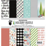 Fancy Pants Designs - Holiday Hustle Collection - Christmas - 6 x 6 Paper Pad
