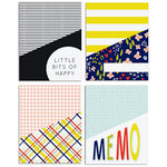 Fancy Pants Designs - Take Note Collection - Library Pockets and Cards Set