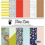 Fancy Pants Designs - Take Note Collection - 6 x 6 Paper Pad