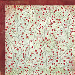 Fancy Pants Designs - Christmas Magic Collection - 12 x 12 Double Sided Paper - Bough of Holly