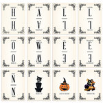 Fancy Pants Designs - Spellbound Collection - Halloween - Banner Cards