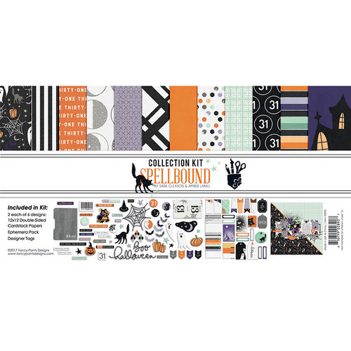 Fancy Pants Designs - Spellbound Collection - Halloween - 12 x 12 Collection Kit