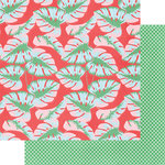 Fancy Pants Designs - Poolside Collection - 12 x 12 Double Sided Paper - Summer Lovin'