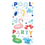 Fancy Pants Designs - Poolside Collection - Puffy Stickers