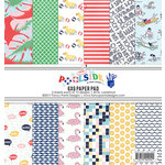 Fancy Pants Designs - Poolside Collection - 6 x 6 Paper Pad