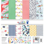 Fancy Pants Designs - Poolside Collection - 12 x 12 Collection Kit