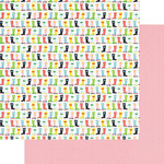 Fancy Pants Designs - The Bright Side Collection - 12 x 12 Double Sided Paper - Happy Feet