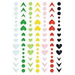 Fancy Pants Designs - The Bright Side Collection - Puffy Stickers