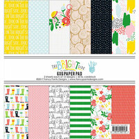 Fancy Pants Designs - The Bright Side Collection - 6 x 6 Paper Pad