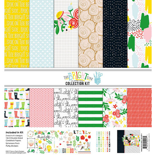 Fancy Pants Designs - The Bright Side Collection - 12 x 12 Collection Kit