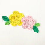 Fancy Pants Designs - The Bright Side Collection - Crochet Flowers