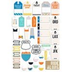Fancy Pants Designs - On Our Way Collection - Tags and Labels