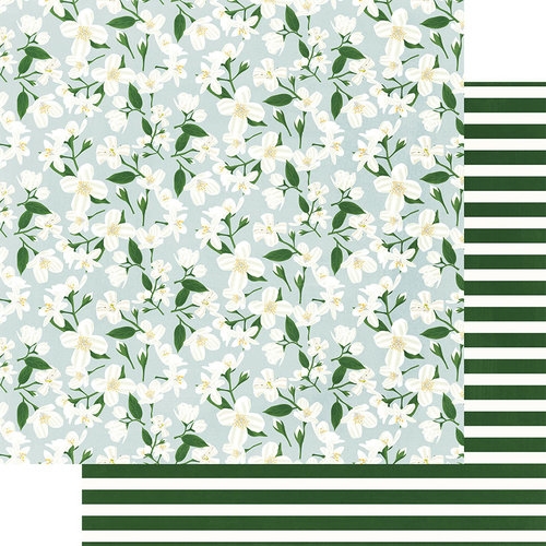 Fancy Pants Designs - Magnolia Moments Collection - 12 x 12 Double Sided Paper - Magnolia Moments