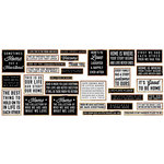 Fancy Pants Designs - Magnolia Moments Collection - Letterboard Sentiments