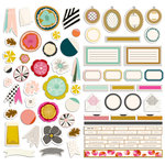 Fancy Pants Designs - The Yellow Door Collection - Die Cut Stickers