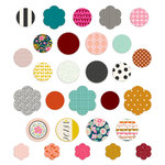 Fancy Pants Designs - The Yellow Door Collection - Medallion Stickers
