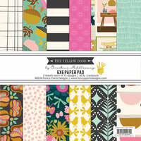 Fancy Pants Designs - The Yellow Door Collection - 6 x 6 Paper Pad
