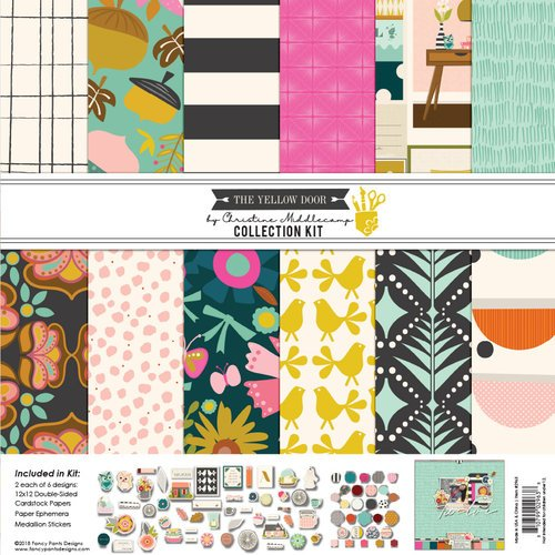 Fancy Pants Designs - The Yellow Door Collection - 12 x 12 Collection Kit