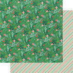 Fancy Pants Designs - Christmas Cottage Collection - 12 x 12 Double Sided Paper - Under the Mistletoe