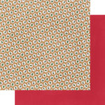 Fancy Pants Designs - Christmas Cottage Collection - 12 x 12 Double Sided Paper - Comfy Cozy