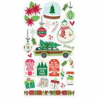 Fancy Pants Designs - Christmas Cottage Collection - Chipboard Stickers