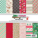 Fancy Pants Designs - Christmas Cottage Collection - 6 x 6 Paper Pad