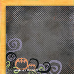 Fancy Pants Designs - Trick or Treat Collection - Halloween - 12 x 12 Double Sided Paper - Great Pumpkin