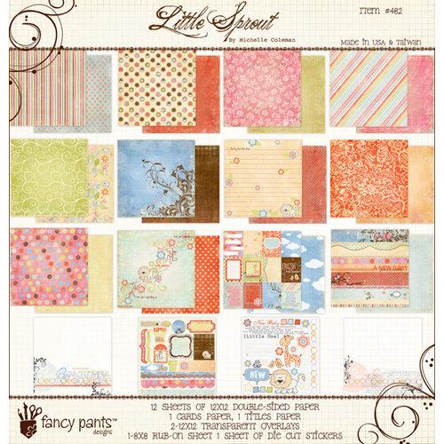 Fancy Pants Designs - Little Sprout Collection - 12 x 12 Paper Kit
