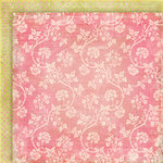 Fancy Pants Designs - Little Sprout Collection - 12 x 12 Double Sided Paper - Baby's Breath