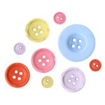 Fancy Pants Designs - Little Sprout Collection - Buttons, CLEARANCE