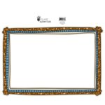 Fancy Pants Designs - Rough and Tough Collection - Glitter Cuts Transparencies - Orange Boy Frame