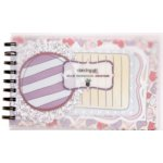 Fancy Pants Designs - Dancing Girl Collection - 5 x 8 Notebook Journal