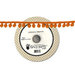 Fancy Pants Designs - Trick or Treat Collection - Halloween - Ball Trim Ribbon - 25 Yards - Orange ,