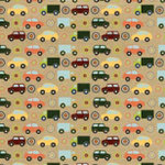 Fancy Pants Designs - That Boy Collection - 12 x 12 Paper - Trucks and Cars