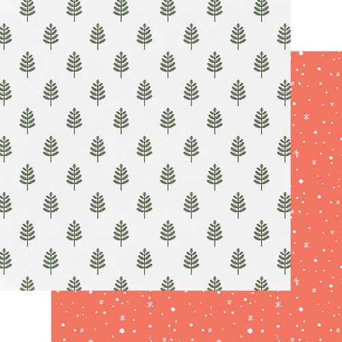 Fancy Pants Designs - Home For Christmas Collection - 12 x 12 Double Sided Paper - Woodland