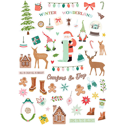 Fancy Pants Designs - Home For Christmas Collection - Ephemera