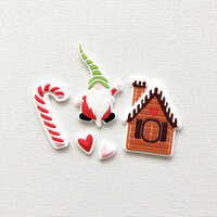 Fancy Pants Designs - Home For Christmas Collection - Silicone Shapes