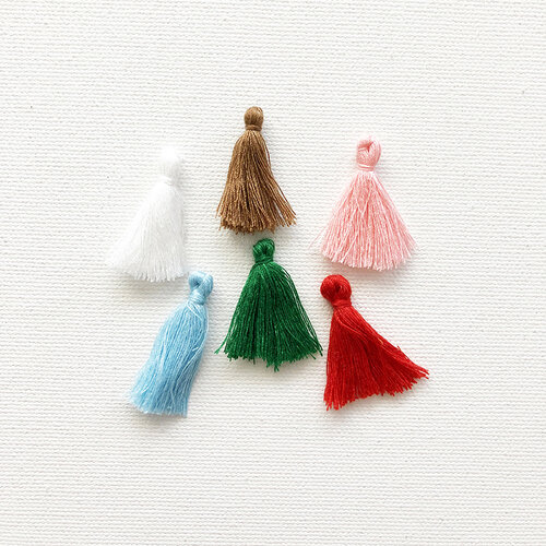 Fancy Pants Designs - Home For Christmas Collection - Tassels