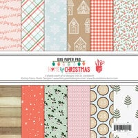 Fancy Pants Designs - Home For Christmas Collection - 6 x 6 Paper Pad